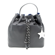 T-EASY STAR BUCKET SM ECOLEATHER CHARM S