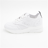 KARLIE 14 - SNEAKER CALF LEATHER WHITE