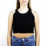 CROPPED TOP BLACK