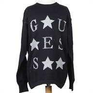 LS RN CUTOUT SWEATER