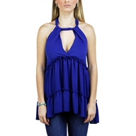 FLARE TOP ROYALBLUE