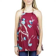 PRINTED TOP WINE
