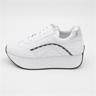 HILARY 02 RUNNING CALF WHITE