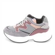 JOG 09 SNEAKER GREY/BORDEAUX