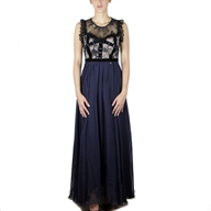 LONG DRESS BLACKBLUECIPRIA