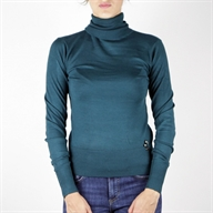 TURTLE NECK PULL DARKGREEN