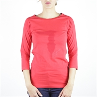 LARGE COLLAR T-SHIRT JERSEY STRETCH SLIM
