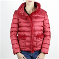 PADDED JACKET BORDEAUX