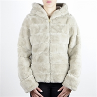 FAKE FUR BEIGE