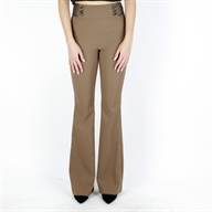 FLARE PANT BRONZE