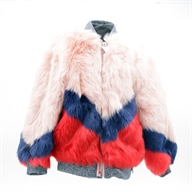 ECO FUR JACKET WITH