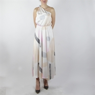 PRINTED LONG DRESS MIXFANTASY