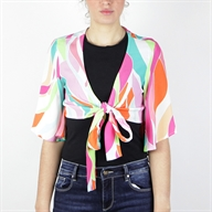 CROPPED TOP MULTICOLOR