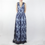 LONG DRESS DARKLIGHTBLUE