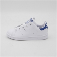 LEATHER          WHITE/BLUE
