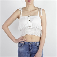CROPPED TOP OFFWHITE
