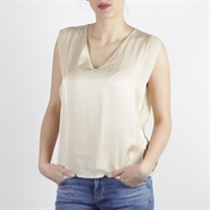 SLEEVELESS TOP SAND