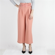 FLARE COULOTTE PANT MELON