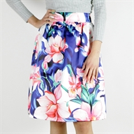 MIDI SKIRT MULTICOLOR