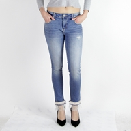 H/SUPER SKINNY PANT STONEBLEACHED