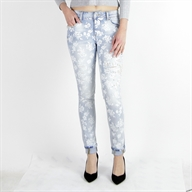 HIGH SHAPE UP PANT BLEACHED
