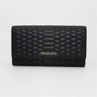 PARIGI CONTINENTAL WALLET LG QUILTED ECO