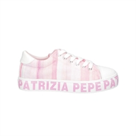 SNEAKERS CONVERS BAS.RIGHE ROSA PATRIZIA PEPE