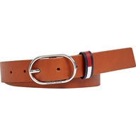CINTURA IN ECOPELLE CON FIBBIA OVALE TOMMY HILFIGER