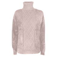 MAGLIA DONNA DOLCEVITA EFFETTO MOHAIR YESZEE